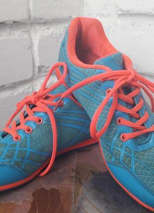 Спортивные кроссовки в сеточку дышащие голубые розовые 25.5 см 39 размер