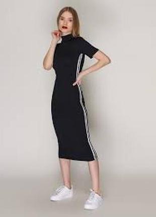 Платье черное loca. качество и комфорт.