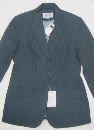 Next пиджак жакет классический деловой серый размер 10 s