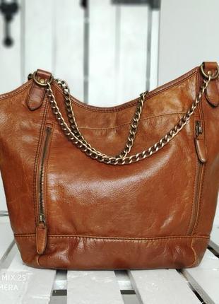 Marks&spancer 100% оригинальная кожаная сумка.