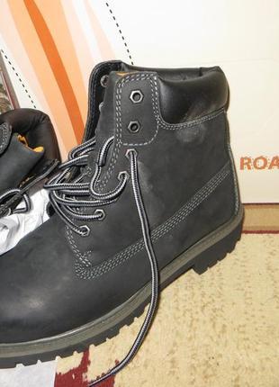 Cупер классные кожаные ботинки road3