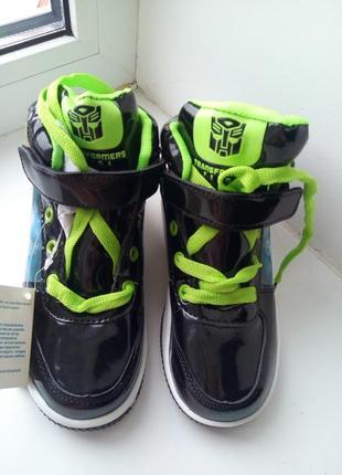 Хайтопы, кроссовки, высокие кеды, ботинки бамблби, трансформеры3