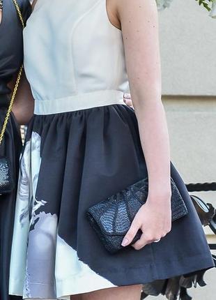 Плаття бренду befree з принтом мерлін монро - розмір s