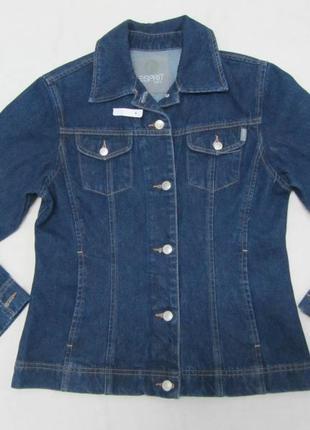 Esprit куртка джинсовая пиджак джинсовый джинсовка размер s/m