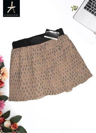 Новая плиссированная юбка в бантиках atmosphere
