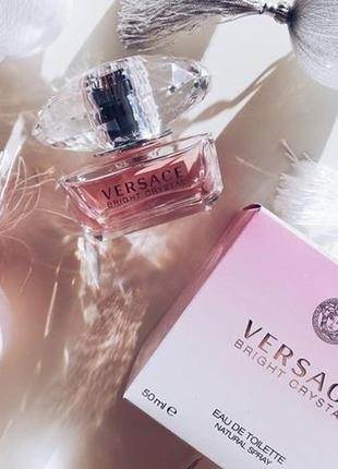 Парфюм оригинал 100% versace crystal  bright