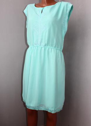 Шифоновое платье 44-46р