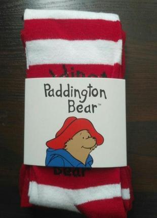 Классные колготки paddington bear с любимыми героями. акция