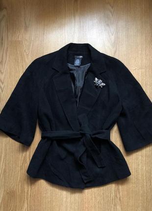 Пальто-халат/полушерстяное пальто/плюс подарок