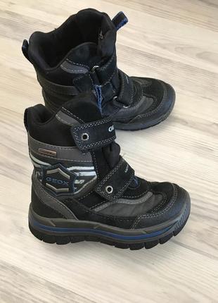Зимние ботинки, термо ботинки geox 26p