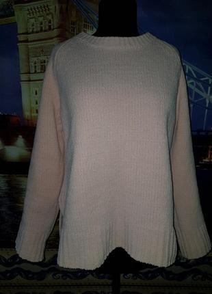 Велюровый свитер george!