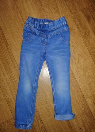 Джинсы на девочку штаны стрейчевые