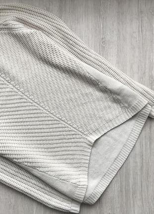 Красивая вязаная кофточка/свитер прямого покроя new look