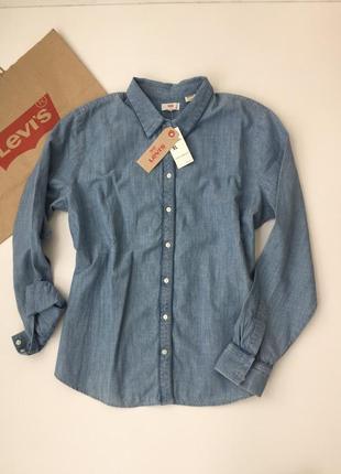 Рубашка джинсовая женская levi's