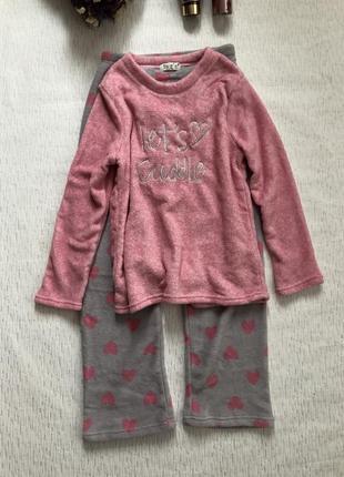 Новая уютная пижама , теплая love to lounge