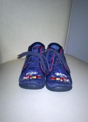 Джинсовые ботинки размер 21 можно на высокий подъем4 фото