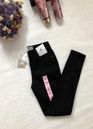 Черные джинсовые лосины - джинсы , джегинсы 4- размер denim co