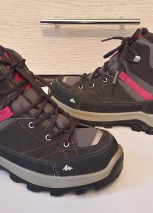 Термо ботинки от quechua.