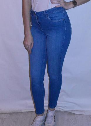 Трендовые джинсы skinny с высокой посадкой