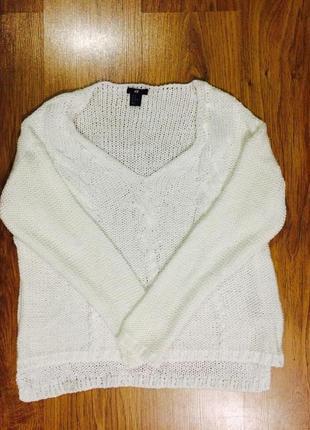 Легкий свитерок  h&m, размер  с/м/л. оверсайз