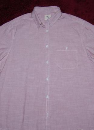 Отличная летняя рубашка 100 % котон пог 56 см