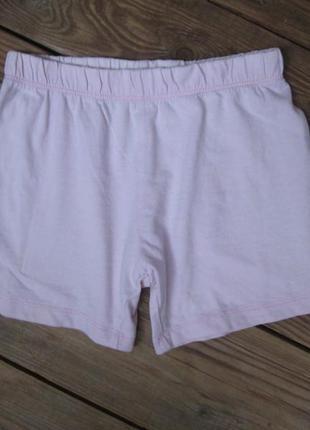 Хлопковые шорты шортики mothercare на 3-4 года, сост. отличное, пояс на резинке