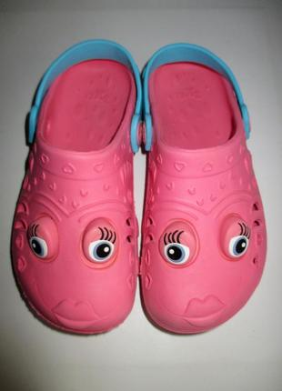 Кроксы crocs, пляжная обувь, босоножки next, стелька по углублению19,5 см