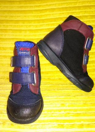 Черевики pepino, ботинки ricosta, черевички pepino ricosta 24 размер