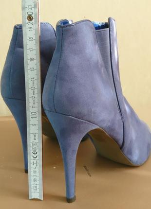 Лавандовые ботинки 41 размер