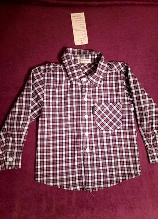 Стильна сорочка / рубашка для малюка