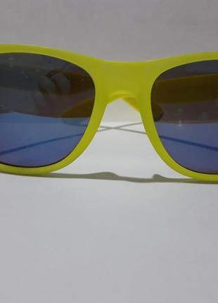 Очки. солнцезащитные очки. очки в стиле ray ban. wayfarer. желтые очки