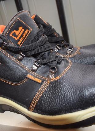 Кожаные ботинки р.43 rocklander 28.4 см как новые