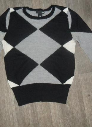 Шерстяной свитерок h&m