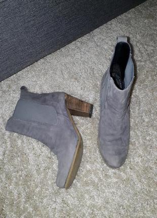Кожаные ботинки челси max