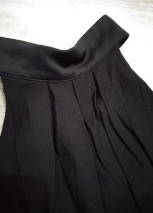 Черный брючный комбинезон h&m3