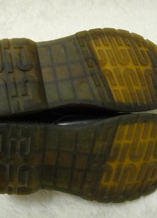 Кожаные, стильные утепленные качественные ботинки acesc р. 35-36 стелька 23 см5