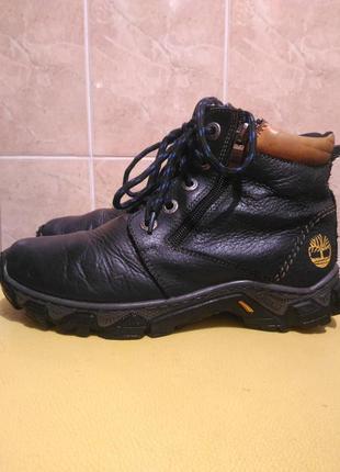 Кожаные зимние ботинки 36р.