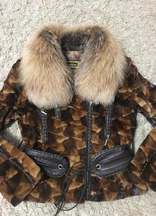 Полушубок курточка норка