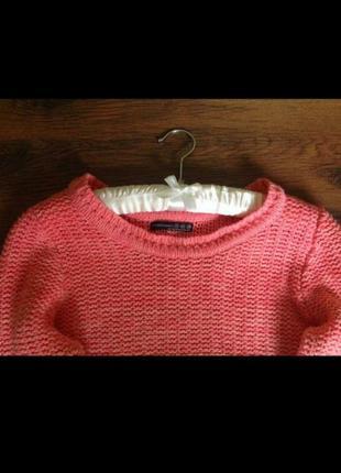 Вязаный свитер амбре atmosphere2 фото