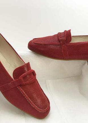 6c4721fb40e0 La belle туфли балетки мокасины красные кожаные женские 38 размер на ...