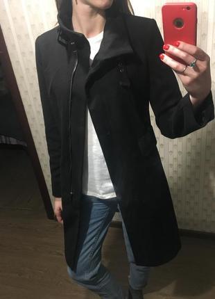 Пальто новое черное