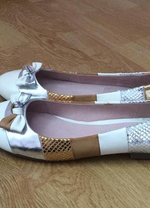 Новые туфли балетки lunar англия 40 размера