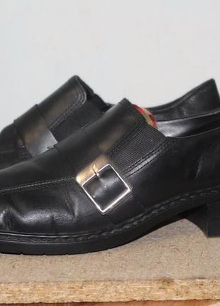 Туфли rieker натуральная кожа 41-42