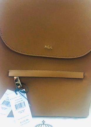 Ralph lauren рюкзак из натуральной кожи2