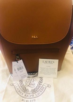 Ralph lauren рюкзак из натуральной кожи5
