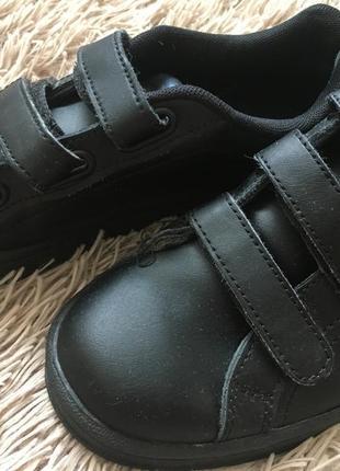 Чёрные кроссовки на липучках, slazenger, размер 37