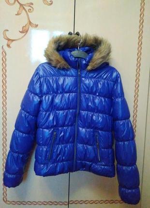 Еврозима, демисезонная женская куртка jazlyn, германия, размер украинский 46-48