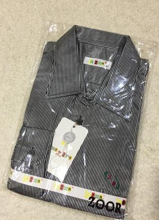 Нарядная рубашка в полоску zoor p.37 14-16лет