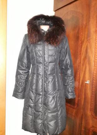 Зимнее пальто пуховий