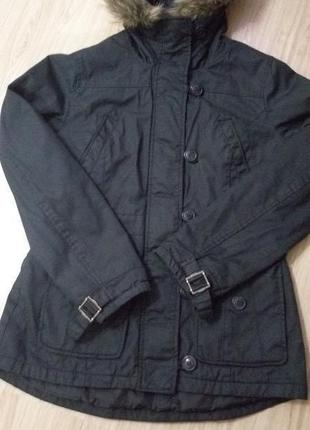 Стильная куртка теплая , парка h&m